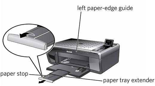 loading paper rh resources kodak com Kodak ESP 5200 Printer Kodak ESP 5200 Printer