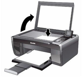 copying a document rh resources kodak com Kodak Printers All in One Kodak Printers 5200 Series