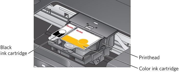 replacing ink cartridges rh resources kodak com Kodak 5200 Printer Replacement Parts Kodak ESP 5200 Printer